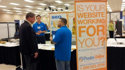 PrositesOnline featuring at a Dallas Expo
